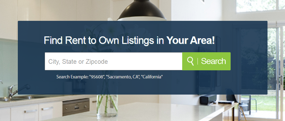 Find Rent to own homes
